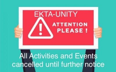 Cancelation of Events & Activities