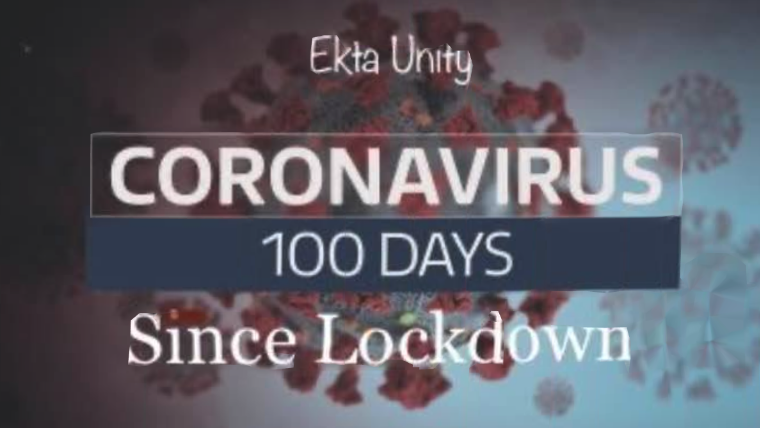 We've reached 100 days of lockdown